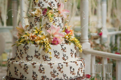 Wedding Cake outdoor