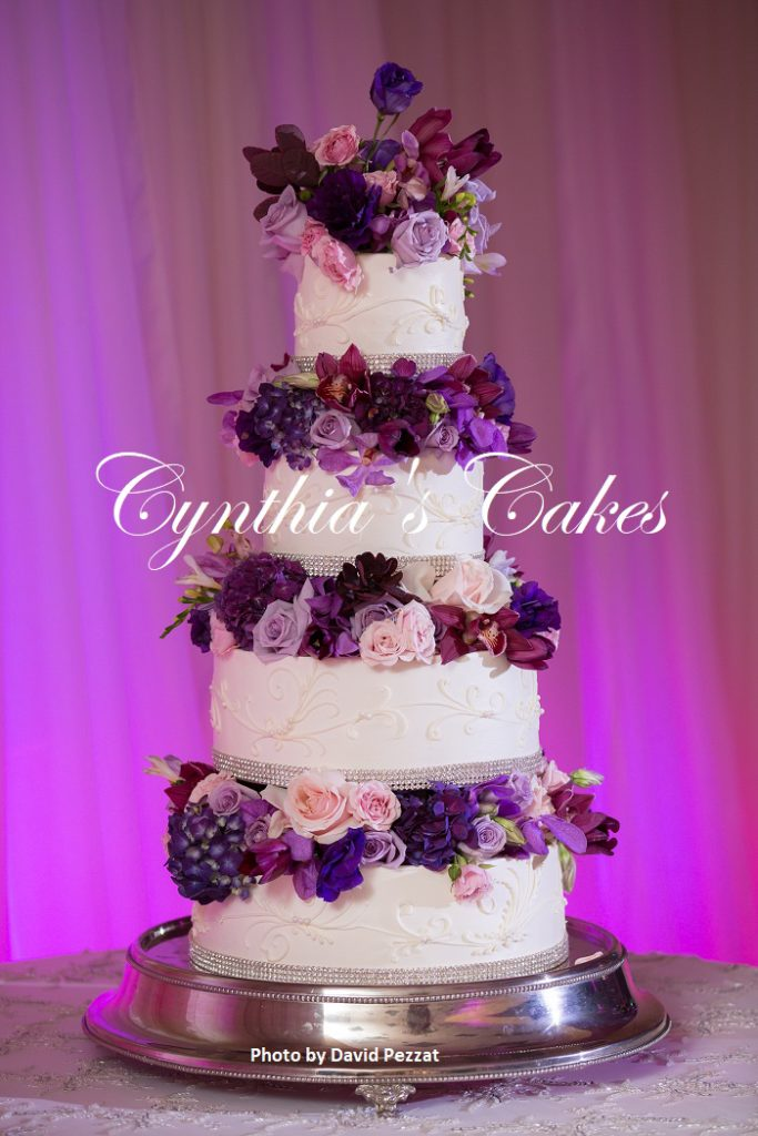 Awesome shades of purple wedding images styles ideas 2018 purple tiered wedding cake cynthias cakes llc junglespirit Choice Image